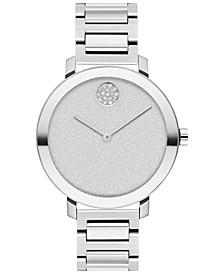 Women's Swiss Bold Evolution Stainless Steel Bracelet Watch 34mm