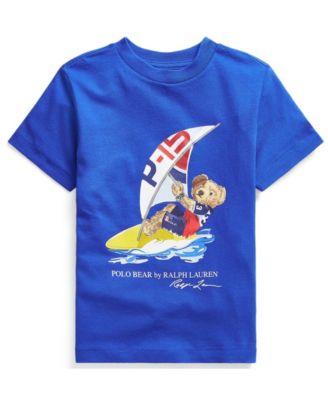 폴로 랄프로렌 Polo Ralph Lauren Toddler Boys Polo Bear Jersey T-shirt
