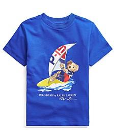 Toddler Boys Polo Bear Jersey T-shirt