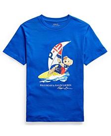 Big Boys Polo Bear Jersey T-shirt