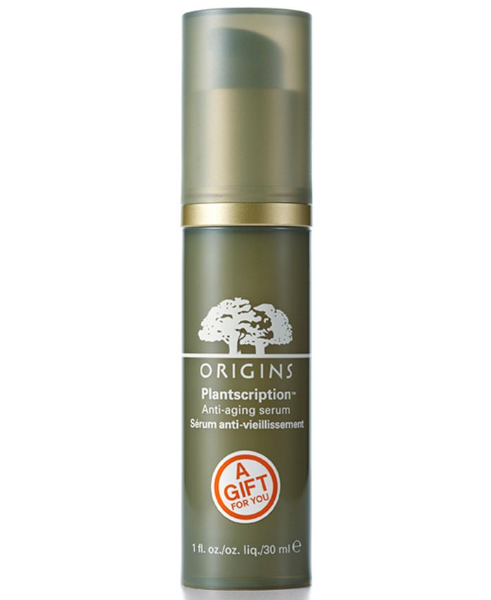 Origins - Receive a FREE full-size Plantscription Serum with $75  purchase