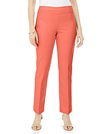 Studded Pull-On Tummy Control Pants, Regular and Short Lengths, Created for Macy's