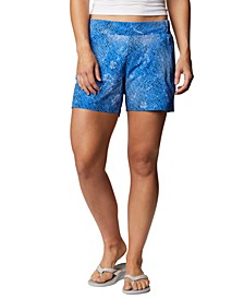 Plus Size PFG Tidal II Adjustable-Waist SPF Shorts