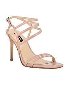 Women's Zana Strappy Evening Stiletto Dress Sandals