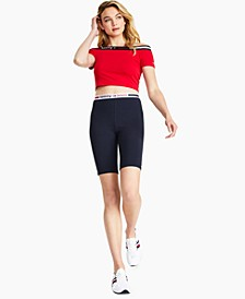 Logo Bike Shorts
