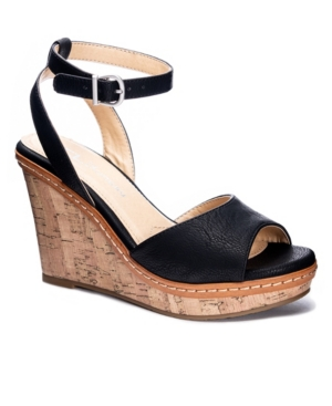 Women's Booming Open Toe Wedge Sandals Women's Shoes