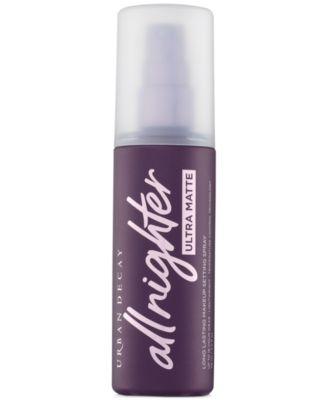 All Nighter Ultra Matte Makeup Setting Spray, 4-oz.