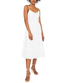 Gigi Smocked Midi Dress, Created for Macy's