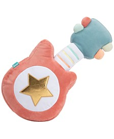 """Baby My First Guitar Lights and Sounds Musical Stuffed Plush Toy, 14"""""""