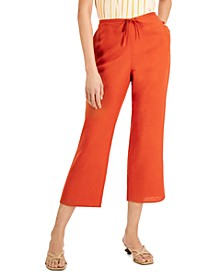 Drawstring Cropped Pants, Created for Macy's