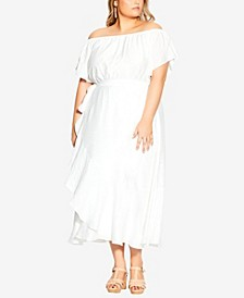 Plus Size Inspiration Maxi Dress