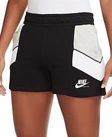 Women's Colorblocked Pull-On Shorts