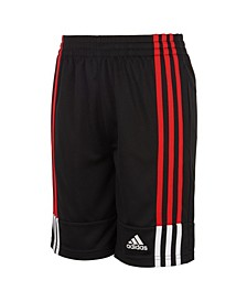 Big Boys Clashing 3-Stripes Shorts