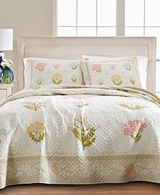 Floral Album King/Cal King Quilt, Created for Macy's