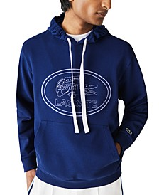 Men's Embroidered Logo Hoodie