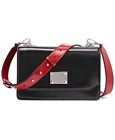 Pearl Large Leather Crossbody