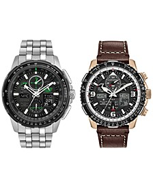 Eco-Drive Men's Skyhawk A-T Watch Collection