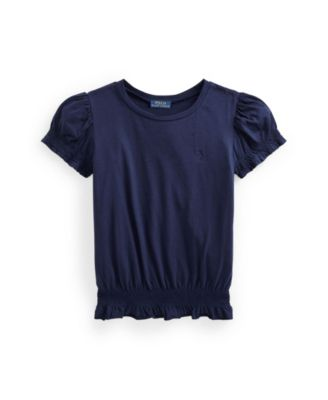 폴로 랄프로렌 Polo Ralph Lauren Big Girls Shirred Jersey Top