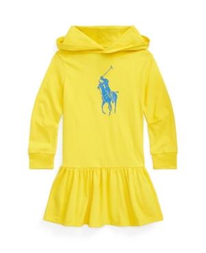 Polo Ralph Lauren Cottons LITTLE GIRLS BIG PONY COTTON JERSEY T-SHIRT DRESS
