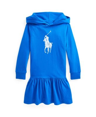 폴로 랄프로렌 Polo Ralph Lauren Little Girls Big Pony Cotton Jersey T-shirt Dress