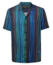 Men's Short Sleeve Striped Shirt