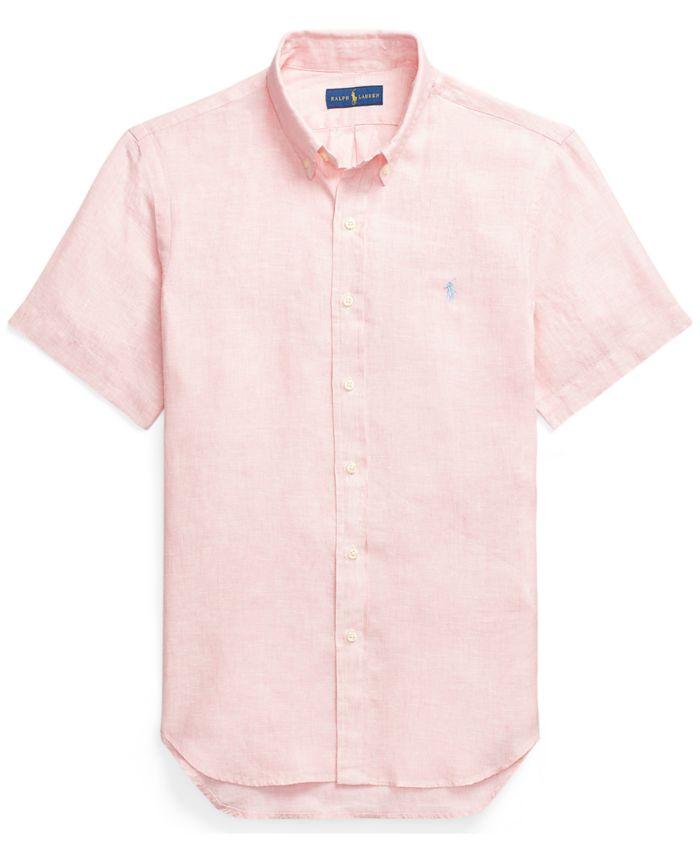 Polo Ralph Lauren Classic-Fit Linen Shirt & Reviews - Casual Button-Down Shirts - Men - Macy's