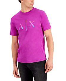 Men's Pride Ombré AX Logo Graphic T-Shirt