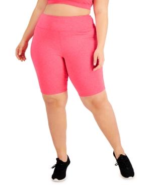 Plus Size Sweat Set Bike Shorts