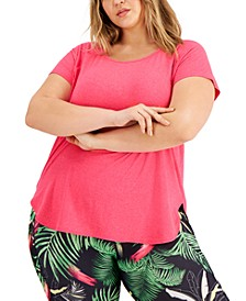 Plus Size Sweat Set T-Shirt, Created for Macy's