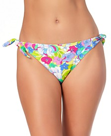 Juniors' Side-Tie Hipster Bikini Bottoms, Created for Macy's
