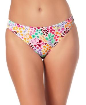 Juniors' Hipster Scoop Bikini Bottoms