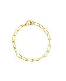 """Paper Clip Chain Anklet 10"""""""