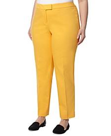 Plus Size Bowie Straight-Fit Pants