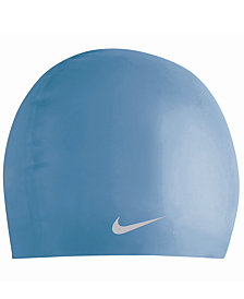 Nike Kids Swim Cap, Boys or Girls Solid Silicone Swim Cap