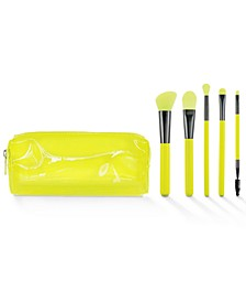 6-Pc. Neon Makeup Brush Set, Created for Macy's