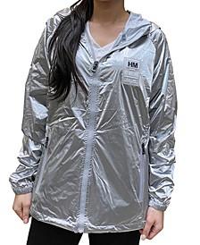 Women's Fashion Hooded Zip-Up Windbreaker