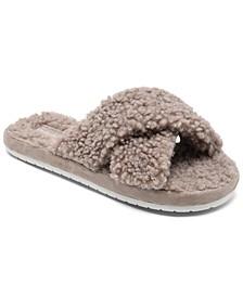 Women's Cozy Slide Sandal Slippers from Finish Line