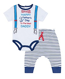 Baby Boys Father's Day, 2 Piece Set