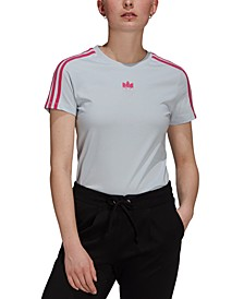 Women's Cotton Trefoil Slim T-Shirt