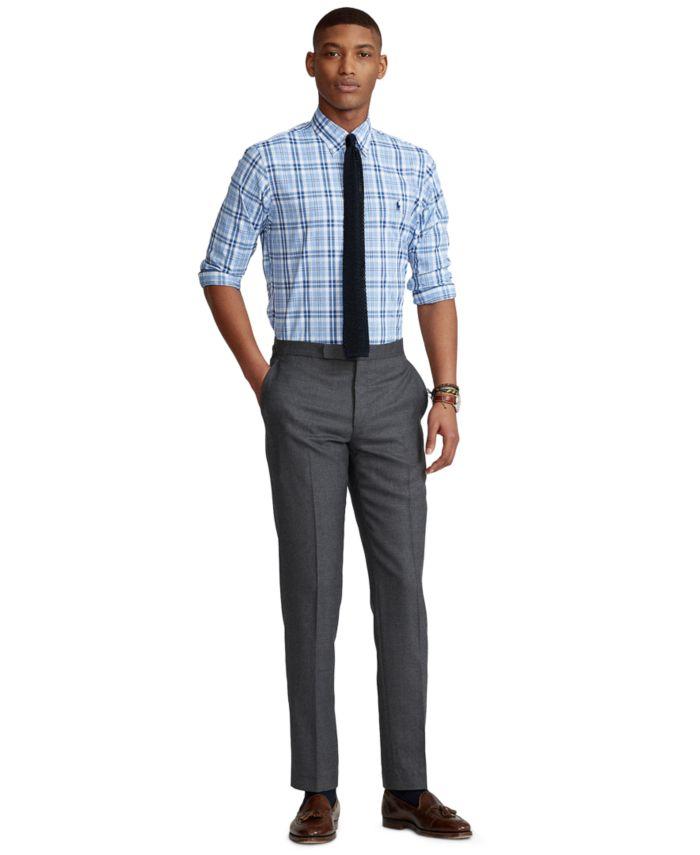 Polo Ralph Lauren Men's Classic-Fit Checked Performance Shirt & Reviews - Casual Button-Down Shirts - Men - Macy's