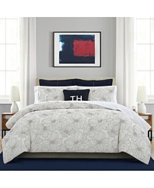 Match Point Floral Bedding Collection