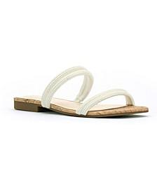Women's Raexe Slip-On Strappy Slide Sandals