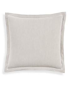 Linen Blend Euro Sham, Created for Macy's