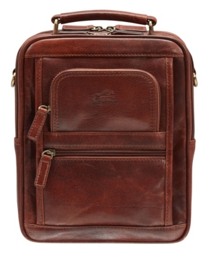 Arizona Collection Large Unisex Bag with Rear Zippered Organizer