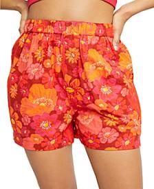 Palo Duro Cotton Printed Shorts
