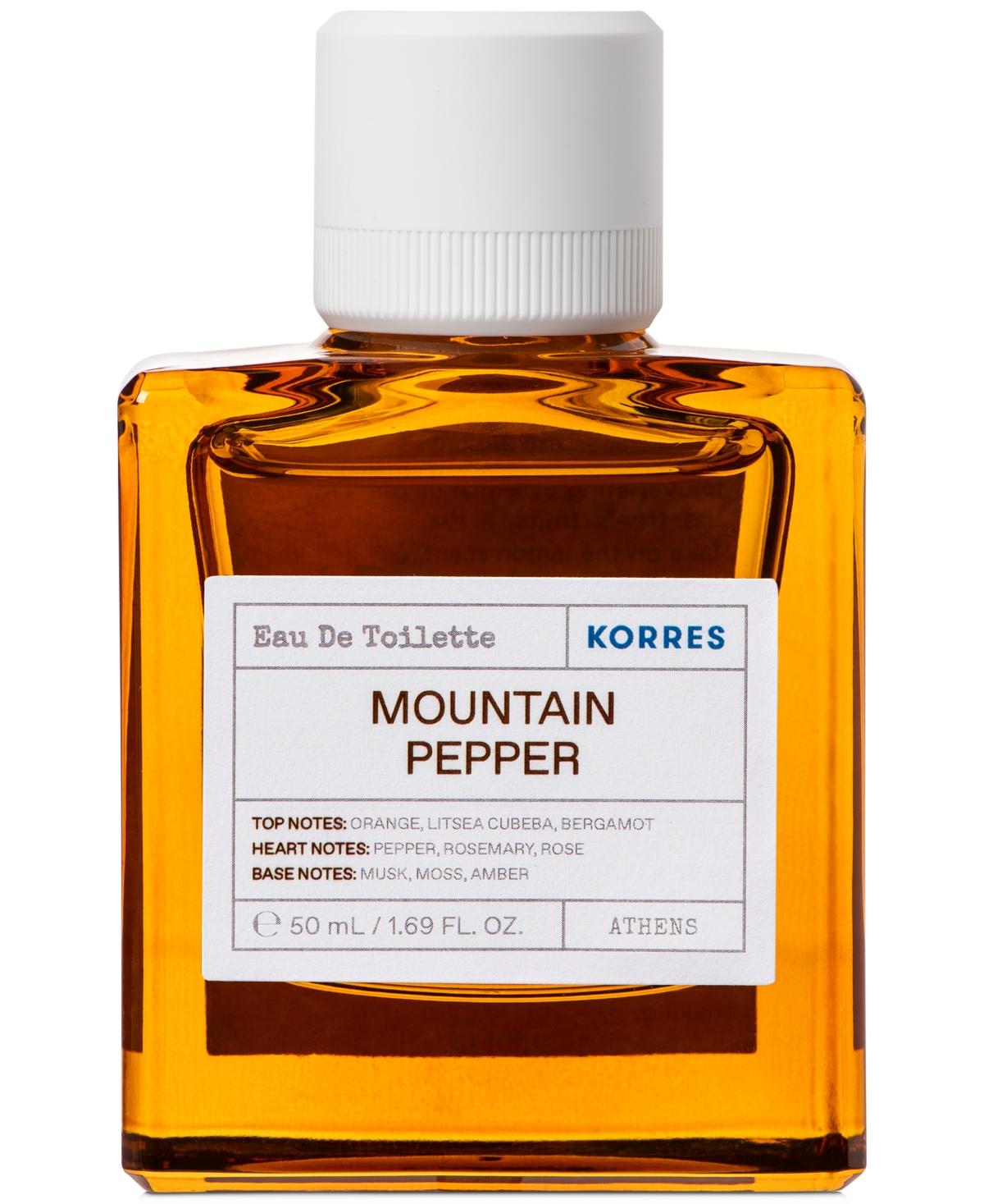 Korres Mountain Pepper Eau de Toilette, 50 ml