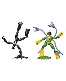 Marvel Bend and Flex Black Suit Spider-Man Vs. Doc Ock