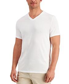 Men's Travel Stretch V-Neck T-Shirt, Created for Macy's
