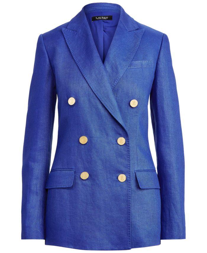 Lauren Ralph Lauren Linen Blazer  & Reviews - Jackets & Blazers - Women - Macy's