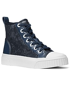 Gertie Lace-Up High-Top Sneakers